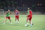 أخبار سارة في الحصة التدريبية الأخيرة للخضر في الدوحة