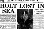 استمرار البحث عن رئيس وزراء أستراليا المختفي