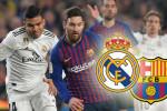 البارصا وريال مدريد على موعد مع كلاسيكو جديد