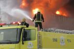 السعودية.. وفاة 7 أشخاص في حريق منزل بالسعودية (صور)