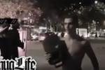بالفيديو مناصر جزائري يتحدى الشرطة الفرنسية على طريقته الخاصة