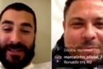 """بن زيمة يصدم مدربه زيدان في بث مباشر مع رونالدو """"الفينومينو"""""""