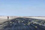 تساقطت أطنان من الذهب من طائرة شحن في روسيا