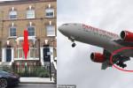 سقوط رجل من طائرة فوق لندن أثناء سفره مختبئاً من كينيا