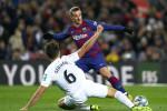 سيتيان ينجو في أول إمتحان مع برشلونة