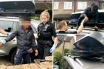 شاهد .. مراهق مصري يصل إلى بريطانيا مختبئًا في صندوق سيارة