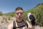 فيديو...غوّاص يعثر على هاتف آي فون في قاع النهر ويعيده لصاحبته