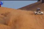 """فيديو مروع لانقلاب """"هايلوكس"""" أثناء التطعيس ينتهي بتطاير الركاب"""