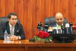 وزير الشباب والرياضة يستقبل بيراف ويتفقان على لم الشمل