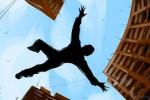 """وفاة مصري سقط من الطابق السابع بسبب """"فأر"""""""