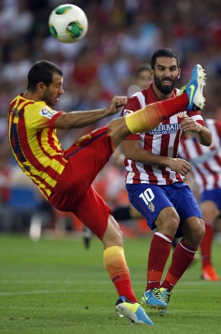 صور : صور مباراة أتلتيكو مدريد - برشلونة